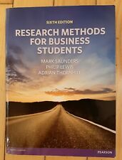 book | Research Methods For Business Students by Mark Saunders Philp Lewis