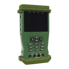 "K625P 3.5"" inch TFT LCD Color Camera Video CCTV Tester Analogy PTZ DC 9V Green"