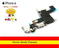 CONECTOR FLEX CARGA + MICROFONO + ANTENA PARA IPHONE 6 BLANCO