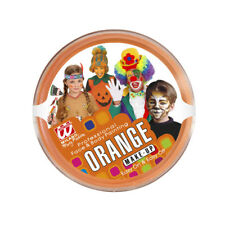 MAKE UP ORANGE KINDER Halloween Karneval Fasching Kostüm Zubehör Schminke 02397
