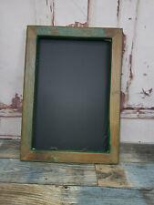Vintage Reclaimed Rustic Blackboard Menu Board Memo Board Kitchen