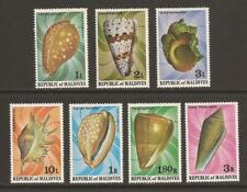 MALDIVE ISLANDS 1979 SG798/804 Shells Set MNH (JB10425)