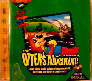 RARE THE OTTER'S ADVENTURE CD-ROM WINDOWS & MAC LEARN ABOUT SCIENCE AND ECOLOGY