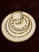 Minton Fine Bone China England Mirabeau 5-Piece Place Setting