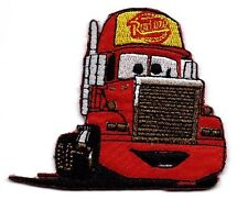 MACK Super-Liner in Cars Pixar Disney Embroidered Iron On/ Sew On Patch