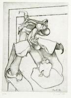 Untitled, 1967. Radierung Manfred GARSTKA (*1937 D), handsigniert, numm. 8/10