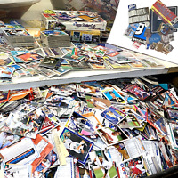 5LB Baseball Trading Cards Lot - Bulk Vintage collectibles - Huge MLB Sports set