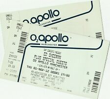 Ed Sheeran unused tickets Manchester Apollo 2012
