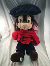 "Fievel An American Tale 22"" Caltoy Sears Plush Stuffed Animal Vintage 1986"