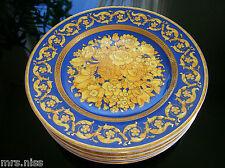 Rosenthal Versace 1 x NEUER Floralia blue Brotteller 18 cm ***NEUWARE***