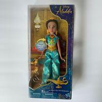DISNEY Aladdin Sings A Whole New World PRINCESS JASMINE Doll Hasbro NEW in Box