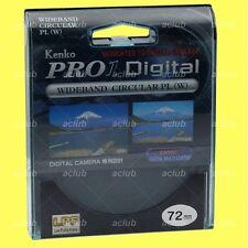 Camera Lens Filters with Circular Polarizer Effect