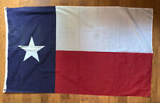 3'x5 Texas State Flag Grommets 4 Rows