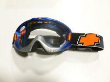 Masque lunette cross bleu SPY AMXJ405F  NEUVE lunette moto cross enduro