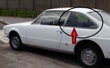 """Fiat 124 Coupè Vignale """"Eveline""""-Vetro Laterale Originale Usato - Post.Sinistro"""