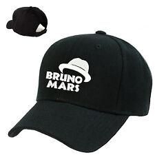BRUNO MARS BASEBALL CAP HAT FOR FANS FEDORA LOGO SOUVENIR GIFT CONCERT