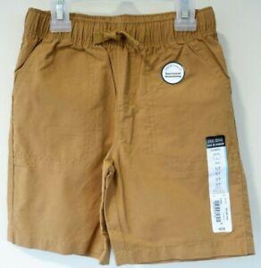 New W/Tags Okie Dokie Topaz Brown Shorts Boy's Size 5/5T