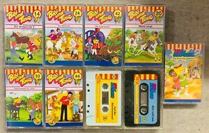 9 MC Kinder-Kassetten Hörspiele Geschichten Bibi & Tina Blocksberg