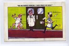 (Sf309-100) Artist Signed, No Nurse, I Said Prick His Boil, Unused G-VG,