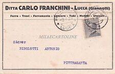 LUCCA - Ditta Carlo Franchini - Ferro-Travi-Ferramenta 1929