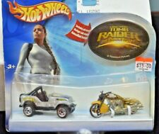 MATTEL HOT WHEELS LARA CROFT TOMB RAIDER THE CRADLE OF LIFE