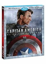Captain America: The First Avenger (Capitán América: El Primer Vengador) BLU-RAY