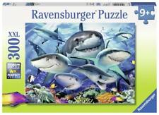 RAVENSBURGER JIGSAW PUZZLE SMILING SHARKS HOWARD ROBINSON 300 PCS #13225