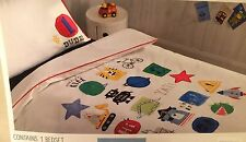 Next My Favourite Things Applique Single duvet cover & Pillowcase Brand New