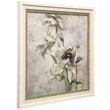 White Flower 2 Framed Art Picture