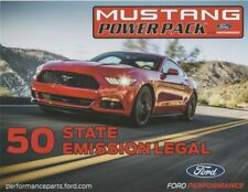 2017 Ford Performance Mustang Power Pack SEMA Show Promo info card