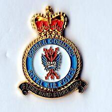 Enamel Lapel Badge ROYAL AIR FORCE BOMBER COMMAND (RAF)