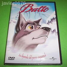 BALTO LA LEYENDA DEL PERRO ESQUIMAL DVD NUEVO Y PRECINTADO