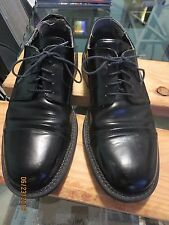 Bostonian Men Oxford Black Leather Size 10M Great Comfortable