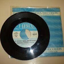 GARAGE PSYCHE 45 RPM RECORD - POSITIVELY THIRTEEN O'CLOCK - HBR 500