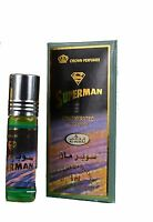 Superman 6ml by Al Rehab Concentrated Roll On Floral Perfume Oil/Attar/Ittar