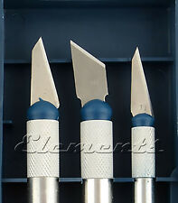 3pc Set Hobby Craft Knife Replacement Blades Only Model Precision Carving T001