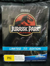 Sealed Jurassic Park Blu-Ray Steelbook Australia JB Hi-Fi Exclusive Region Free