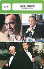 FICHE CINEMA USA Jack Lemmon Acteur Réalisateur Période 1979-1998