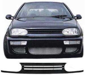 CALANDRE VW GOLF 3 11/1991 A 8/1997 BERLINE BREAK SANS SIGLE NOIRE VOLKSWAGEN