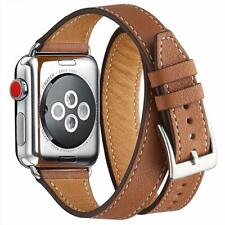 WFEAGL Strap Compatible for Apple Watch Strap 38mm 40mm - Brown