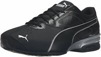 Puma Mens tazom 6 fm Low Top Lace Up Running Sneaker, Black, Size 10.5 yL6c