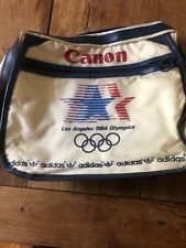 Los Angeles 1984 Olympics Over The Shoulder White  Bag ** FREE SHIPPING USA **