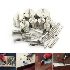 28pcs Diamond Cutter Hole Saw Drill Bit Tool 6-50mm Set For Tile Ceramic Glass