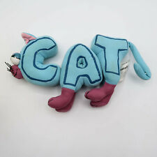 Word World Plush Blue CAT Magnetic Stuffed Pull Apart Educational Toy