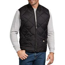 Dickies Men's Diamond Quilted Nylon Vest (Black) Style # TE242