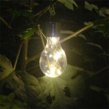 Solar Lights Outdoor Garden Yard Waterproof Hanging Led Light Bulb Decor Lamp