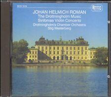 ROMAN - Violin Concerto / Sinfonias - Leo BERLIN / Stig WESTERBERG