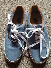 Blue Jeabs VANS sneakers Mens Us 9 - Uk 8.5 ,women Us10.5 - Uk 8.5