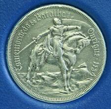 PORTUGAL 10 Escudos (1928): GRAF ALFONSO HENRIQUES AUF PFERD, Silber, ss+, 1Po