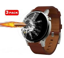 Tempered Glass Screen Protector for Motorola Moto 360 2nd Gen Watch 46mm [3Pack]